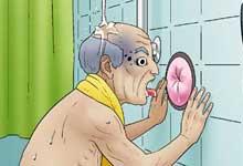 샤워의 조건에 따른
