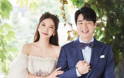 """지숙♥이두희, 꿀 떨어지는 웨딩사진 """"31일 결혼합니다"""""""