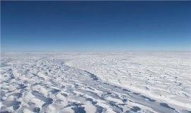 남극에 눈이 그치면서  빙하도 줄었다