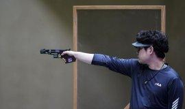 한대윤, 한국 선수 최초 남자 25m 속사권총 결선 진출