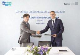 ㈜두산, 英 연료전지 업체와 건물용 SOFC 공동개발 협약