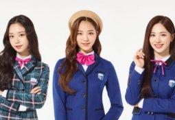 [라이킷] 교복 입은 걸그룹 멤버들
