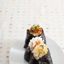 「오늘의 레시피」3종 주먹밥