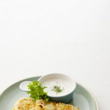 「오늘의 레시피」 우유 마늘 소스와 허브 크러스트...