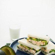 「오늘의 레시피」 게살 매운 샌드위치
