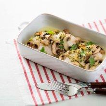 「오늘의 레시피」 닭가슴살 버섯구이와 마늘버터