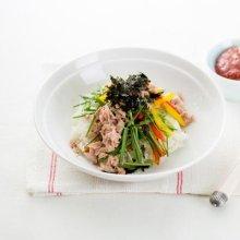 「오늘의 레시피」 참치 채소 비빔밥