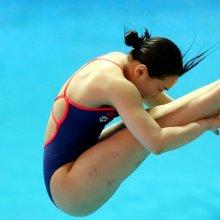 김수지, 한국다이빙 사상 첫 메달