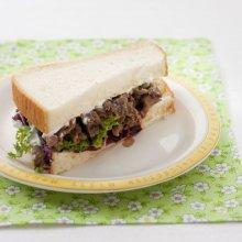 「오늘의 레시피」 크림치즈를 바른 불고기 샌드위...