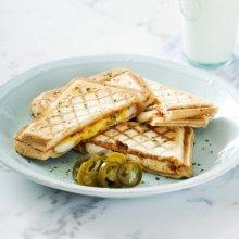 「오늘의 레시피」 더블 치즈 샌드위치