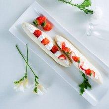 「오늘의 레시피」 딸기 샌드위치
