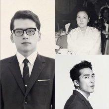 """""""두 분의 아들이어서 행복"""" 송승헌, 아버지·어머니 사진 공개"""