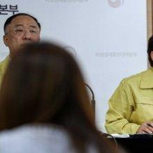 [포토]취재진 질문에 답하는 김현미 장관