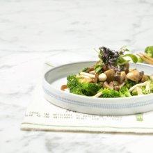「오늘의 레시피」 브로콜리 버섯 샐러드