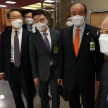 [포토] 국회 찾은 손경식 경총 회장