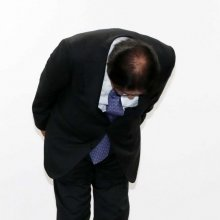 [포토]고개 숙인 박근희 CJ대한통운 대표