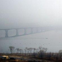 [포토] 짙은 안개와 미세먼지
