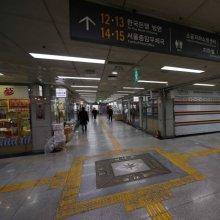 [포토]점심시간 한산한 명동지하쇼핑센터
