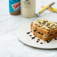 「오늘의 레시피」 피넛버터 바나나 토스트