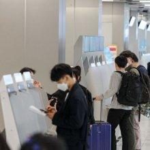 [포토]여행객들로 붐비는 김포공항