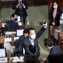 [포토]오세훈 시장과 임종국 시의원