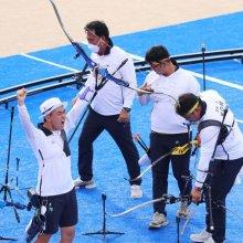 남자 양궁 올림픽 男 단체전 통산 여섯 번째 金(종합)