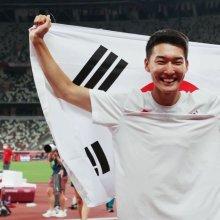 높이뛰기 우상혁, 한국 육상에 희망 쏘아 올려(종합)