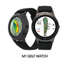 """마이캐디 M1 """"초경량 GPS 골프 워치"""""""