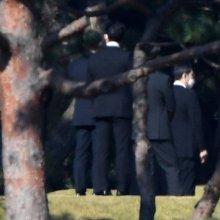 [포토] 이건희 회장 1주기 참석한 이재용-홍라희