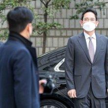 [포토]법원 출석한 이재용 삼성전자 부회장