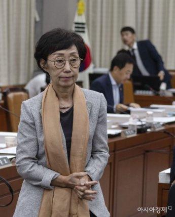 국회 운영위, 최영애 인권위원장 후보자 청문보고서 채택
