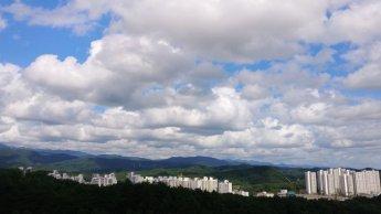 [오늘날씨]전국 구름 끼고 제주도 비바람