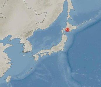 일본 홋카이도 인근 규모 6.7 지진