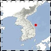 강원 동해시 54㎞ 해역 규모 4.3 지진 발생