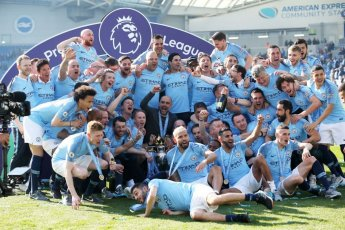 'EPL' 맨시티, 브라이튼에 4-1역전승…리그 2연패·통산 6번째 우승