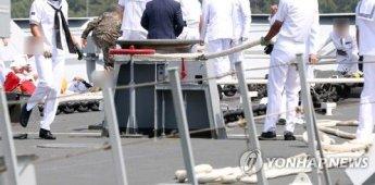[종합]청해부대 입항 환영행사 중 홋줄 터져…1명 사망·4명 부상