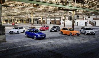 아우디 고성능 모델 RS, 출시 25주년 역사 살펴보니