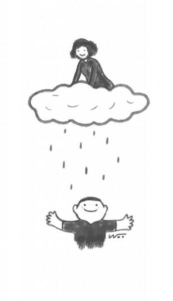 [오후 한 詩] 비를 가르쳐 주는 사람/이희중
