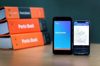 두산인프라코어, 건설기계 부품 매뉴얼 앱 선봬