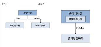 롯데케미칼, 롯데첨단소재 합병…스페셜티 부문 강화
