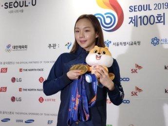 전국체전 수영 5관왕 김서영, 오늘 여성체육대상 수상