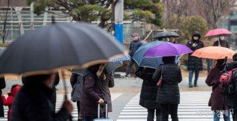 [내일날씨]설 연휴 전날 전국 대부분 비…일부 지역은 눈