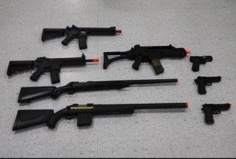불법 비비탄총 개조 근절 안전기준 개정
