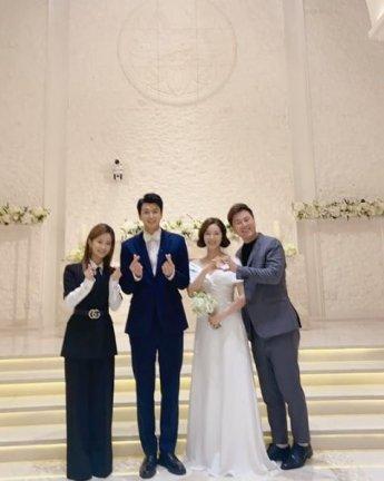 김승현♥장정윤 결혼, 절친 최창민 축가...조이·변기수 등 연예인 총출동