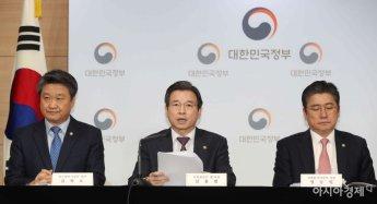 [포토]브리핑하는 김용범 기재부 1차관