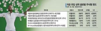 증시 조정 '믿을맨' 글로벌 주식형펀드