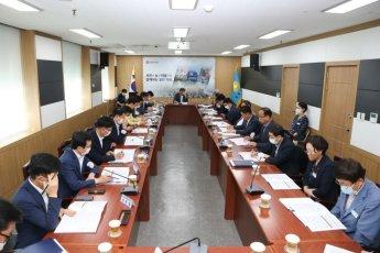 창원시의회, '창원특례시' 추진 등 의장단 간담회 개최