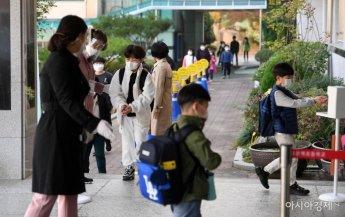 [포토] 전국 초등학교 '등교 확대'