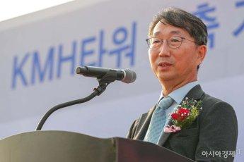 [포토]한찬수 KMH 대표 인사말