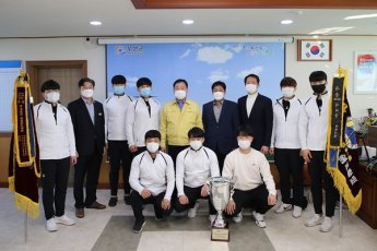 무안군청 직장 검도단, 추계전국실업 검도 대회 '단체전 우승' 쾌거